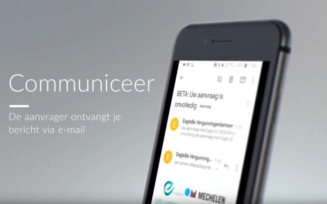Communiceer via EagleBe